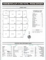 Index Map, Sheboygan County 1992